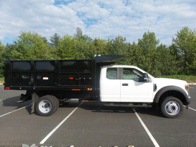 2018 F-550 Super Cab DRW 4x4,  Freedom Landscape Dump #FU8255 - photo 5