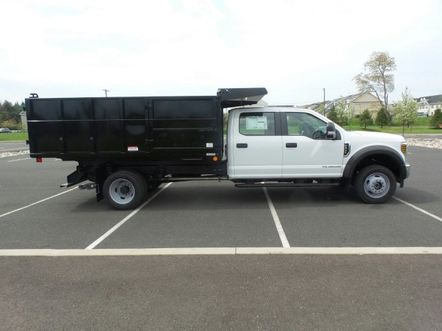 2018 F-450 Crew Cab DRW 4x4,  Reading Landscape Dump #FU8265 - photo 5