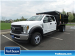 2018 F-450 Crew Cab DRW 4x4,  Reading Landscape Dump #FU8265 - photo 1
