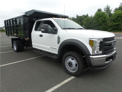 2018 F-450 Super Cab DRW 4x4,  Reading Landscaper SL Landscape Dump #FU8269 - photo 4