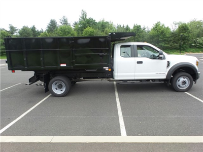 2018 F-450 Super Cab DRW 4x4,  Reading Landscaper SL Landscape Dump #FU8269 - photo 5