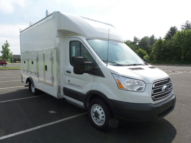 2018 Transit 350 HD DRW 4x2,  Rockport Service Utility Van #FU8276 - photo 4