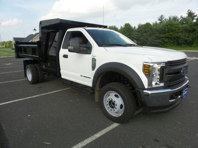 2018 F-550 Regular Cab DRW 4x4,  Rugby Dump Body #FU8305 - photo 4