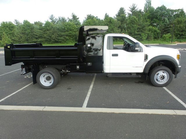 2018 F-550 Regular Cab DRW 4x4,  Rugby Dump Body #FU8305 - photo 5