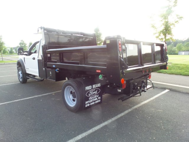 2018 F-550 Regular Cab DRW 4x4,  Rugby Dump Body #FU8305 - photo 2