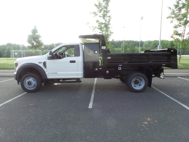 2018 F-550 Regular Cab DRW 4x4,  Rugby Dump Body #FU8305 - photo 8
