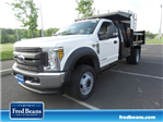 2018 F-550 Regular Cab DRW 4x4,  Rugby Dump Body #FU8305 - photo 1