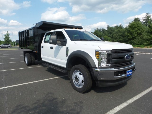 2018 F-450 Crew Cab DRW 4x4,  Reading Landscape Dump #FU8308 - photo 4