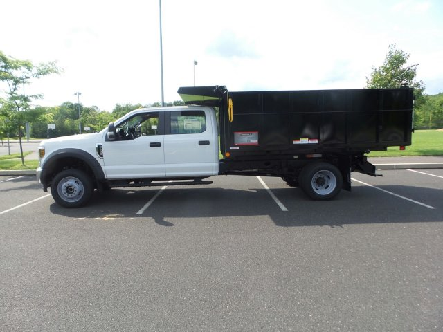 2018 F-450 Crew Cab DRW 4x4,  Reading Landscape Dump #FU8308 - photo 8