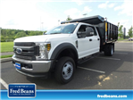 2018 F-450 Crew Cab DRW 4x4,  Reading Landscape Dump #FU8308 - photo 1