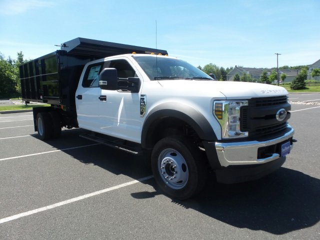 2018 F-550 Crew Cab DRW 4x4,  Reading Landscape Dump #FU8309 - photo 4