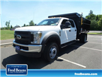 2018 F-550 Crew Cab DRW 4x4,  Reading Landscape Dump #FU8309 - photo 1