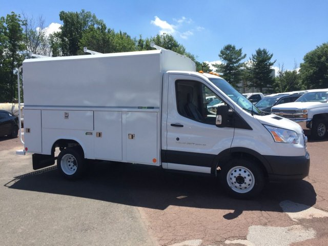 2018 Transit 350 HD DRW 4x2,  Reading Service Utility Van #FU8325 - photo 3
