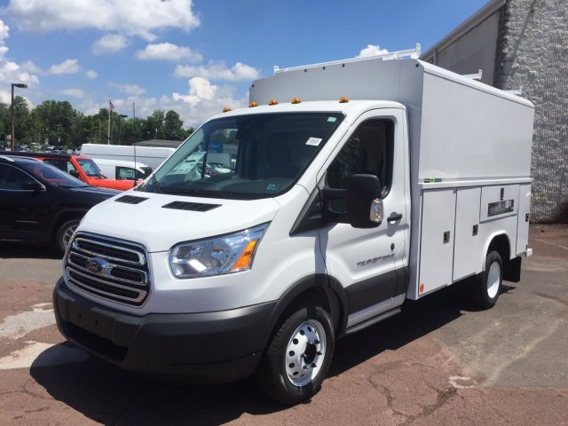 2018 Transit 350 HD DRW 4x2,  Reading Service Utility Van #FU8325 - photo 4