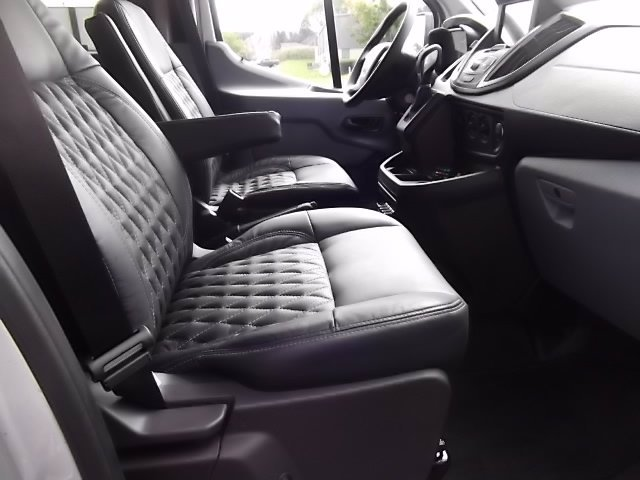 2018 Ford Transit 350 Med Roof RWD, Passenger Wagon #FU8329 - photo 6