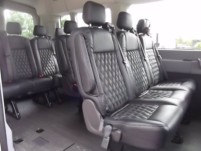 2018 Ford Transit 350 Med Roof RWD, Passenger Wagon #FU8329 - photo 7