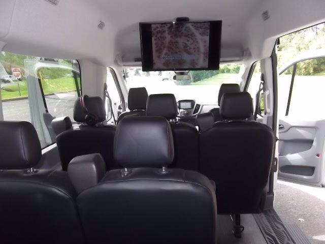 2018 Ford Transit 350 Med Roof RWD, Passenger Wagon #FU8329 - photo 8