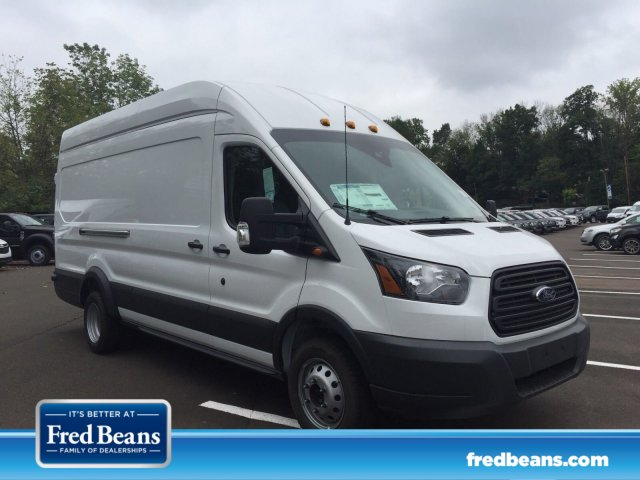 2018 Transit 350 HD High Roof DRW 4x2,  Empty Cargo Van #FU8331 - photo 1
