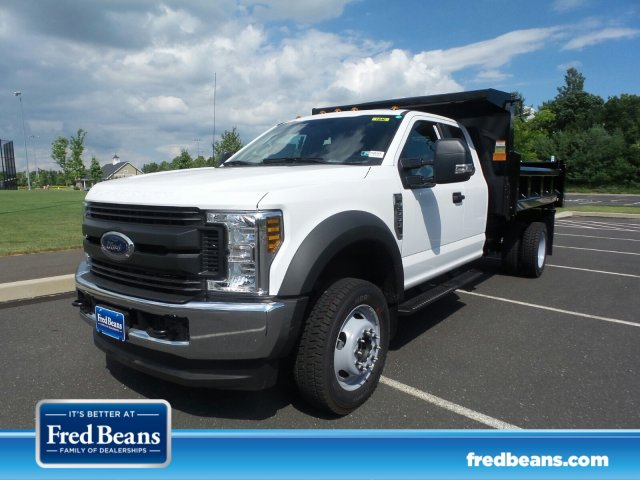 2018 F-550 Super Cab DRW 4x4,  Rugby Eliminator LP Steel Dump Body #FU8344 - photo 1