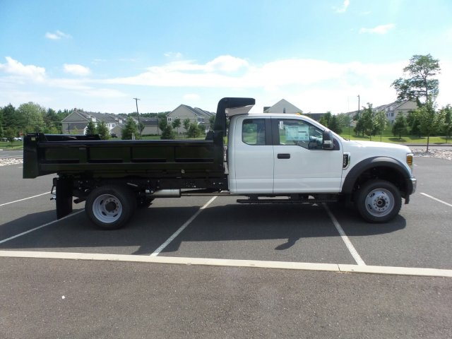 2018 F-550 Super Cab DRW 4x4,  Rugby Dump Body #FU8344 - photo 5