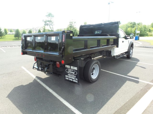 2018 F-550 Super Cab DRW 4x4,  Rugby Dump Body #FU8344 - photo 6