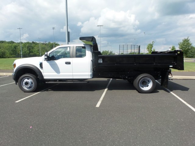 2018 F-550 Super Cab DRW 4x4,  Rugby Dump Body #FU8344 - photo 8