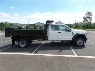 2018 F-550 Super Cab DRW 4x4,  Rugby Eliminator LP Steel Dump Body #FU8344 - photo 5