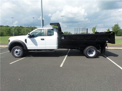2018 F-550 Super Cab DRW 4x4,  Rugby Eliminator LP Steel Dump Body #FU8344 - photo 8