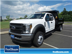 2018 F-550 Super Cab DRW 4x4,  Rugby Dump Body #FU8344 - photo 1