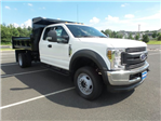 2018 F-550 Super Cab DRW 4x4,  Rugby Eliminator LP Steel Dump Body #FU8344 - photo 4