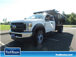 2018 F-450 Super Cab DRW 4x4,  Reading Landscape Dump #FU8354 - photo 1