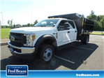 2018 F-550 Crew Cab DRW 4x4,  Reading Landscape Dump #FU8355 - photo 1