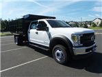 2018 F-550 Crew Cab DRW 4x4,  Reading Landscaper SL Landscape Dump #FU8355 - photo 4