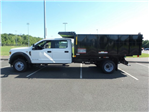2018 F-550 Crew Cab DRW 4x4,  Reading Landscaper SL Landscape Dump #FU8355 - photo 8