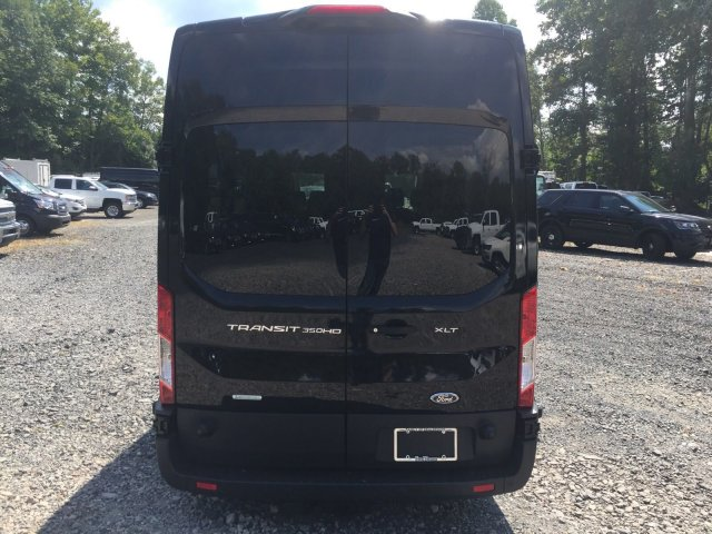 2018 Transit 350 HD High Roof DRW 4x2,  Passenger Wagon #FU8377 - photo 4