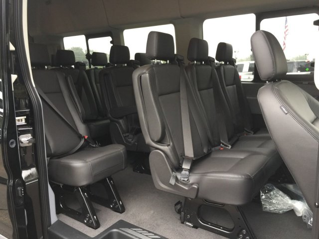 2018 Transit 350 HD High Roof DRW 4x2,  Passenger Wagon #FU8381 - photo 11
