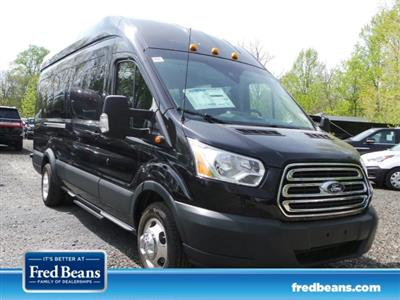 2018 Transit 350 HD High Roof DRW 4x2,  Passenger Wagon #FU8381 - photo 1