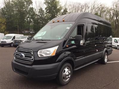 2018 Transit 350 HD High Roof DRW 4x2,  Passenger Wagon #FU8381 - photo 6