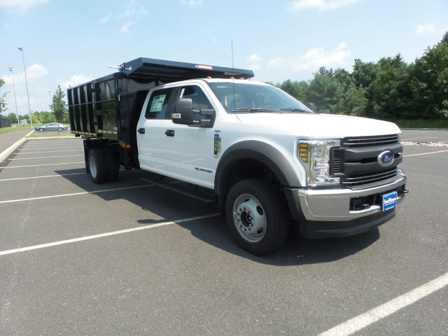 2018 F-550 Crew Cab DRW 4x4,  Morgan Landscape Dump #FU8382 - photo 4