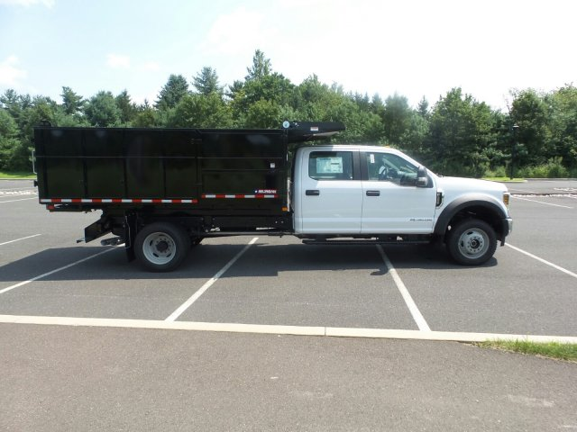 2018 F-550 Crew Cab DRW 4x4,  Morgan Landscape Dump #FU8382 - photo 5
