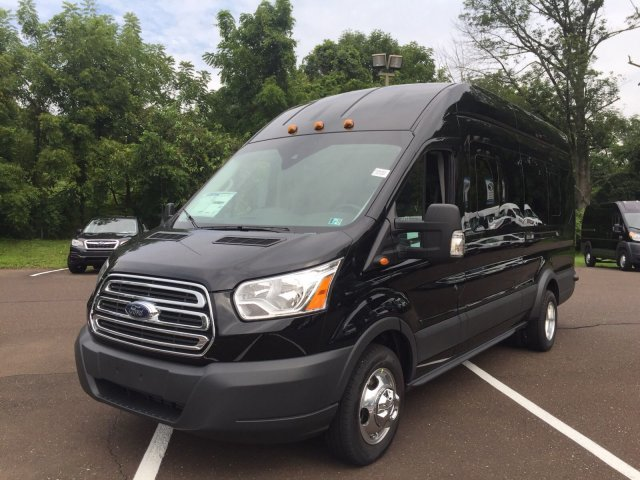 2018 Transit 350 HD High Roof DRW 4x2,  Passenger Wagon #FU8383 - photo 6