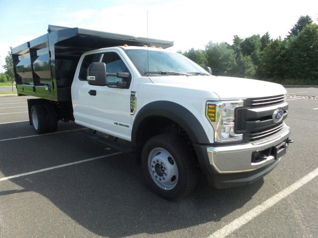 2018 F-550 Super Cab DRW 4x4,  Rugby Landscape Dump #FU8409 - photo 4