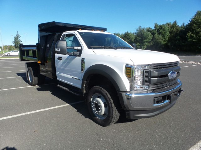2019 F-550 Regular Cab DRW 4x4,  Rugby Dump Body #FU9090 - photo 4