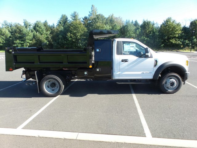 2019 F-550 Regular Cab DRW 4x4,  Rugby Dump Body #FU9090 - photo 5