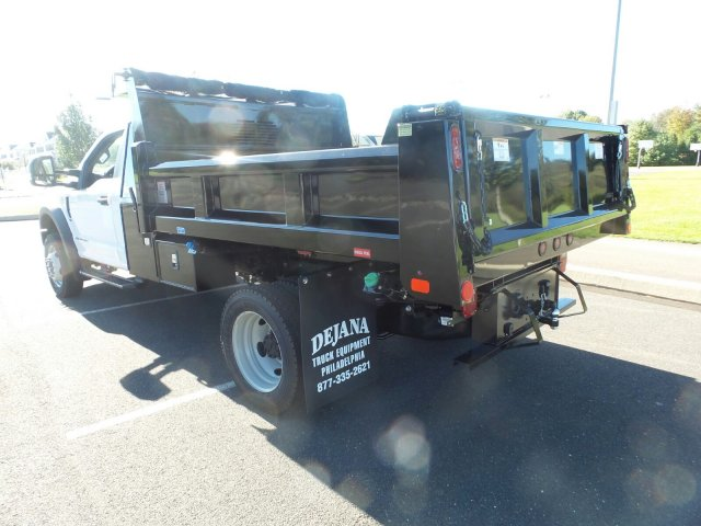 2019 F-550 Regular Cab DRW 4x4,  Rugby Dump Body #FU9090 - photo 2