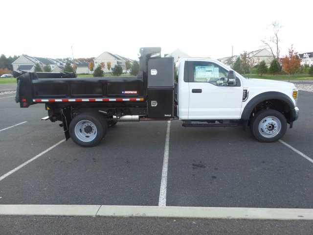 2019 F-450 Regular Cab DRW 4x4,  Morgan Dump Body #FU9092 - photo 5