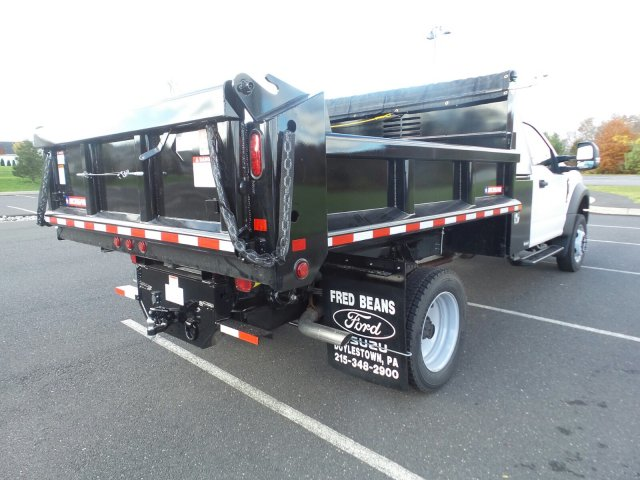 2019 F-450 Regular Cab DRW 4x4,  Morgan Dump Body #FU9092 - photo 6