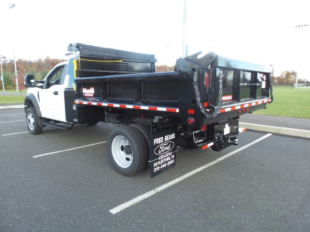 2019 F-450 Regular Cab DRW 4x4,  Morgan Dump Body #FU9092 - photo 2