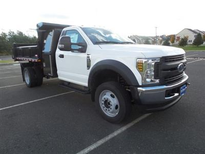 2019 F-450 Regular Cab DRW 4x4,  Morgan Dump Body #FU9092 - photo 4