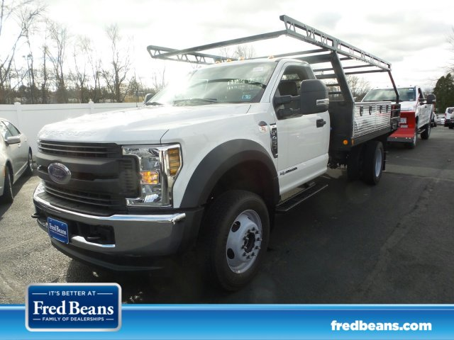 2019 F-450 Regular Cab DRW 4x4,  Freedom Contractor Body #FU9112 - photo 1